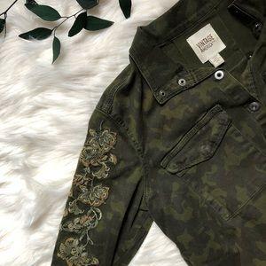 🌿 Vintage America Camo Utility Jacket 🌿